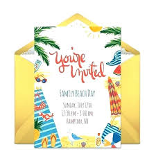 invitation design online free beach party invitations free printable online party invitations