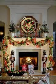 1134 Best Christmas Mantels Images On Pinterest Christmas