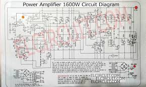 high power dj amps 2 channel amp wiring diagram wiring diagrams 1600w high power amplifier circuit complete pcb layout in 2018 rh com