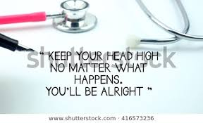 Medical Quotes Gorgeous Medical Quotes Said Keep Your Head Stock Photo Edit Now 48