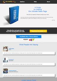 sale page template ogibiz templates