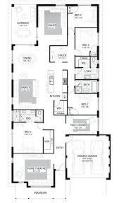 4 bedroom modern house plans 4 bedroom modern house plans image house plan 4 bedroom house