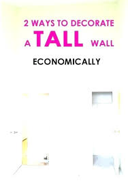 narrow wall decor tall skinny wall decor 2 ways to decorate a ceiling narrow vertical new