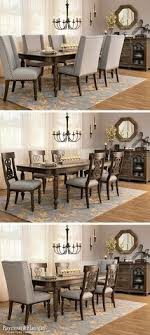 choose this set with all upholstered chairs all wood chairs or a mix of both find this pin and more on dining room