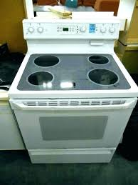 cleaning glass top stoves broken glass stove top glass top stove throughout profile gas inspirations broken