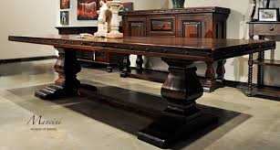 styles of dining room tables. Long Spanish Hacienda Style Dining Table Styles Of Room Tables B