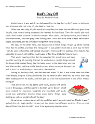 Fourth Grade Reading Comprehension Worksheets | Have Fun Teaching