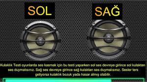 Oyuncu Kulaklık Testi Sol Ses Sağ Ses Kulaklık, HERTZ Testi ve BASS Testi  (PS ve PC) 2020 Güncel - YouTube