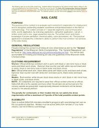 Outstanding Nail Technician Cover Letter Picture Collection Nail