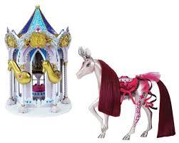 <b>Игровой набор Pony Royal</b> Карусель и пони принцесса Роза ...