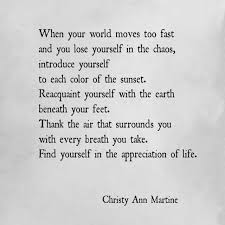 Beauty Appreciation Quotes Best of Writers You Should Know Christy Ann Martine Famous Quotes