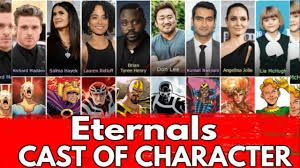 Eternals 2020 Cast Of Character - YouTube
