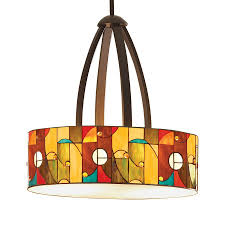 cool allen roth lighting with mission bronze drum light style for bedroom light idea