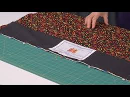 How to make a hanging sleeve for your quilt with Christine Porter ... & How to make a hanging sleeve for your quilt with Christine Porter (taster  video) - YouTube Adamdwight.com