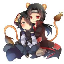 anime chibi cat couples. Unique Couples Chibi Couple Commission 1  ItaSasu  By Kuramachan  Intended Anime Cat Couples M