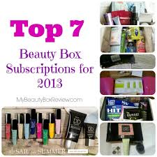 top 7 beauty box subscriptions for 2016
