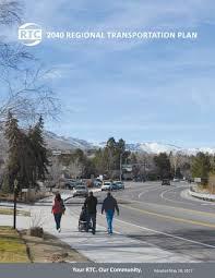 2040 Regional Transportation Plan By Rtcwashoe Issuu