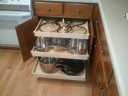 pull out drawers kitchen cabinet shelves wood two drawer slide out organizer pull out kitchen storage