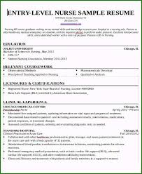 Rn New Grad Resume 48 Sensational New Grad Rn Resume Template You Should Try