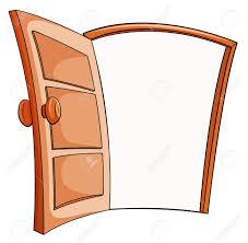 open doors clipart. Astonishing An Open Door On A White Background Royalty Vectors Of Policy Clipart Trends And In Doors