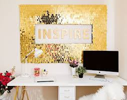 diy sequins wall art sequins walls and easy