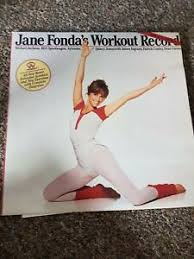 Details About Jane Fonda Workout Record Fitness 80s