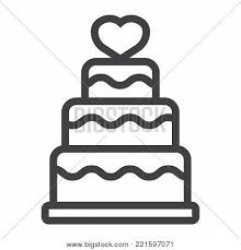 Stacked Love Cake Vector Photo Free Trial Bigstock