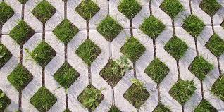 permeable grass pavers a sustainable alternative to traditional concrete paving methods
