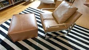 black white striped rug and plastic outdoor