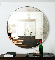 large wall mirror unique round art hanging glass mirror frameless mirror hangers and style wall mirror
