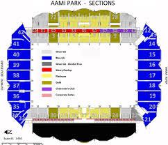Maps Aami Park