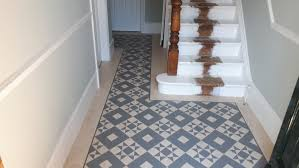 a lovely victorian house located near wimbledon show casing the new amtico signature designs with a classic victorian floor pattern