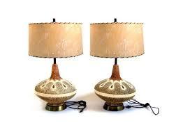 midcentury modern lighting. vintage chalkware lamps by stonesoupology midcentury modern lighting