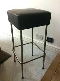 black leather bar stools leather bar stool black black leather bar wooden bar stools for perth
