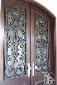 wrought iron exterior doors. Wrought-iron-door-grill-insert-10 Wrought Iron Exterior Doors