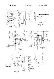 Mechanical electrical medium size patent us4563595 cmos schmitt trigger circuit for ttl logic drawing equivalent