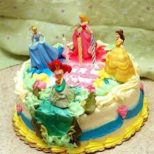 Disney Princess Cake Edible Disney Princess Cake Decorations