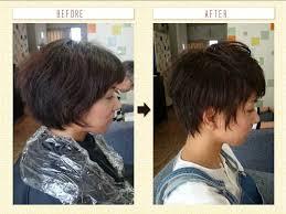 くせ毛を生かした髪型女性のショート編 With 中高年 髪型 Divtowercom
