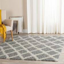 beverley gray ivory 6 ft x 6 ft square area rug