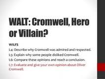 was oliver cromwell a hero or a villain essay written term was oliver cromwell a hero or a villain essay