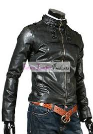 <b>Mens Cow Hide</b> Brown Fashion <b>Leather</b> Jacket   Jackets, <b>Leather</b> ...