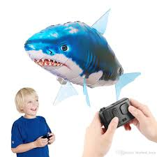 2018 funny air flying toy fish shark toys configuration remote control children s day gift remote infra red controlled from best toys 11 86 dhgate