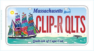 Quilt Store on Cape Cod and Massachusetts Row by Row shop 1357 ... & Clipper Ship Quilter Row by Row Experience Fabric License Plate - Cape Cod Quilt  Shop Adamdwight.com
