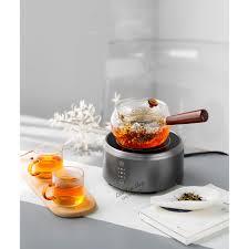 Bếp điện mini hồng ngoại nhỏ gọn pha trà cà phê Moka pot bialetti - Bếp  điện kết hợp