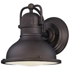 Led Outdoor Barn Light Westinghouse Orson 1 Light Oil Rubbed Bronze Outdoor
