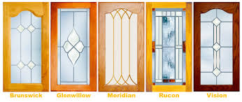 while most of our leaded glass cabinet door designs have