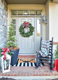 to decorate a small porch for