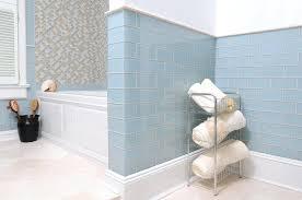 glass bathroom tiles dusty blue glass bathroom tile install glass tile backsplash bathroom