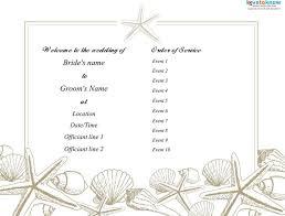 Wedding Programs Template Free 44 Wedding Program Templates Free Download