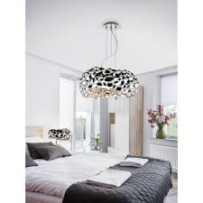 Modern Chrome Pendant Light Clanbay Sl Narisa Modern Chrome Unusual Pendant Light Fixture 5 Light 47cm